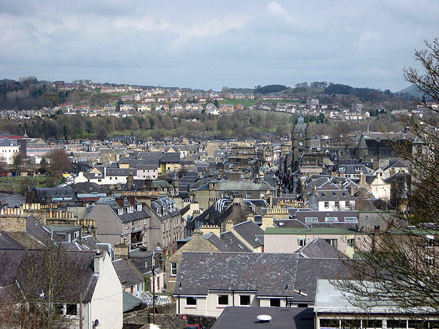 File:Hawick from the top of the Motte - geograph.org.uk - 767662.jpg
