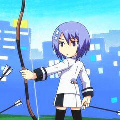 Miyako in anime adaption