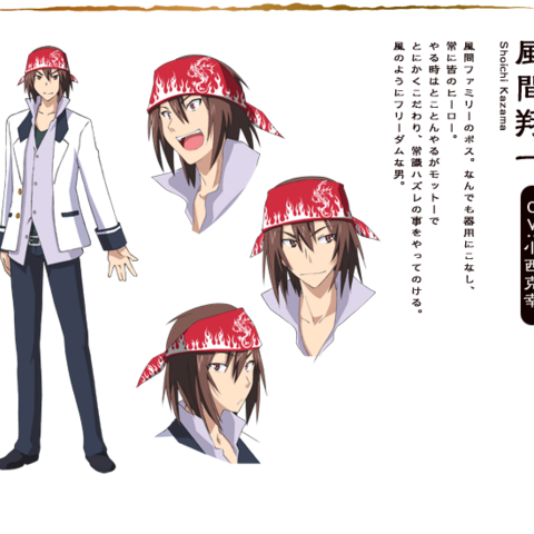 Shouichi in Anime Design