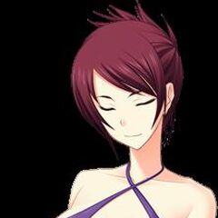 Umeko in her bikini
