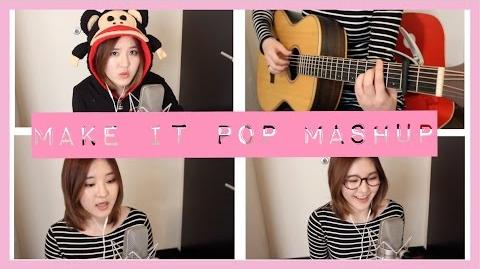 Make It Pop 1 Acoustic Mashup - Megan Lee