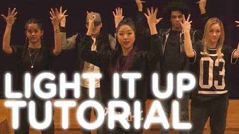 "XO-IQ's ""Light It Up"" Dance Tutorial From the TV Series Make It Pop"