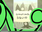 Gianting Squid
