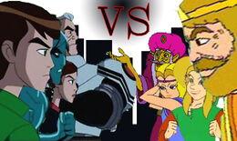 Bellwood vs Hyrule poster