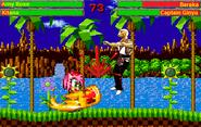 MK9 vs ILAR - Amy Rose and Kitana vs Baraka and Ginyu
