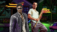 Project PS Zone Pair - Johnny Gat and Trevor Phillips