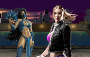 Project PS Zone Pair - Kitana and Shuandi