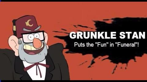 Smash Bros Lawl Fantasmic Character Moveset - Grunkle Stan