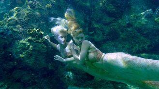 Lyla and sirena hiding