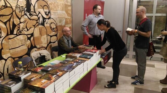 File:SE Book Signing in Serbia November 2016.jpg