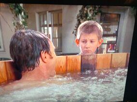 Hot Tub with DEWEY