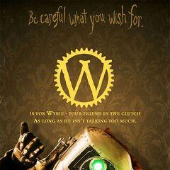 <i>W is for Wybie</i>.