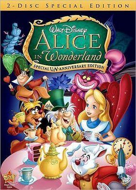 Alice in Wonderland 1951 DVD Cover