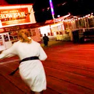 Alice chases Midge.