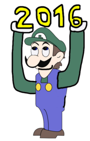 Weegee is happy news years 2016