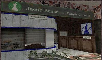 Jacob bensons family chemist
