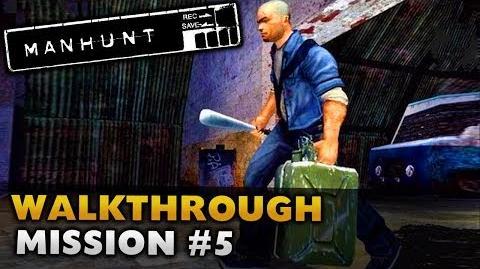Manhunt - Gameplay Walkthrough - Scene 5 Fuelled by Hate