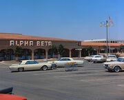 Alpha Beta supermarket, Laguna Hills, 1966