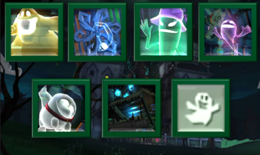 Haunted Towers Mission List