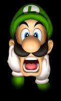 Scared Luigi