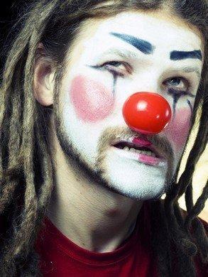 Evil-clown-face-painting