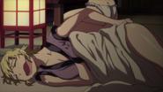 Kaede sleeping