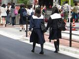Back figure of School Girls (9101608144)