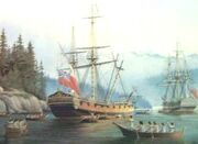 HMS Discovery 1789 Vancouver