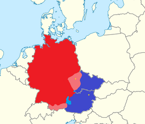 German invasion map