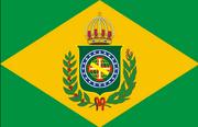 Flag of Empire of Brazil (1870-1889)