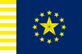 Union of the South Flag 14 Stripes