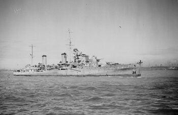 HMS Aurora 1942 IWM A 8158