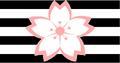 Flag of Sakura-Momoshiro Domain