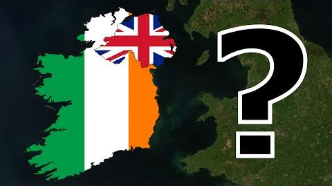 Why Ireland split into the Republic of Ireland & Northern Ireland