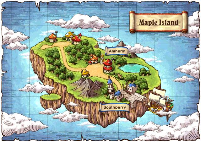 WorldMap Maple Island