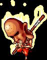 Mob Bronze Staffman