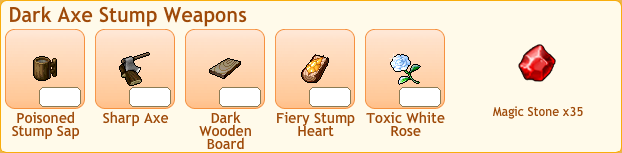 Dark Axe Stump Collection