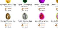 Glowing Eggs Shop