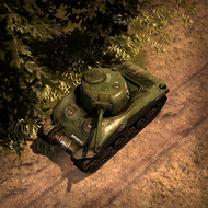 REP BattleTank 3DPortrait ArmyGreen