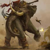 Warload war elephant-accomplished