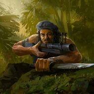 CAR JungleWarrior Portrait