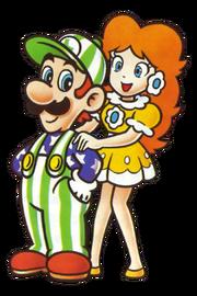 225px-Luigi Daisy NES