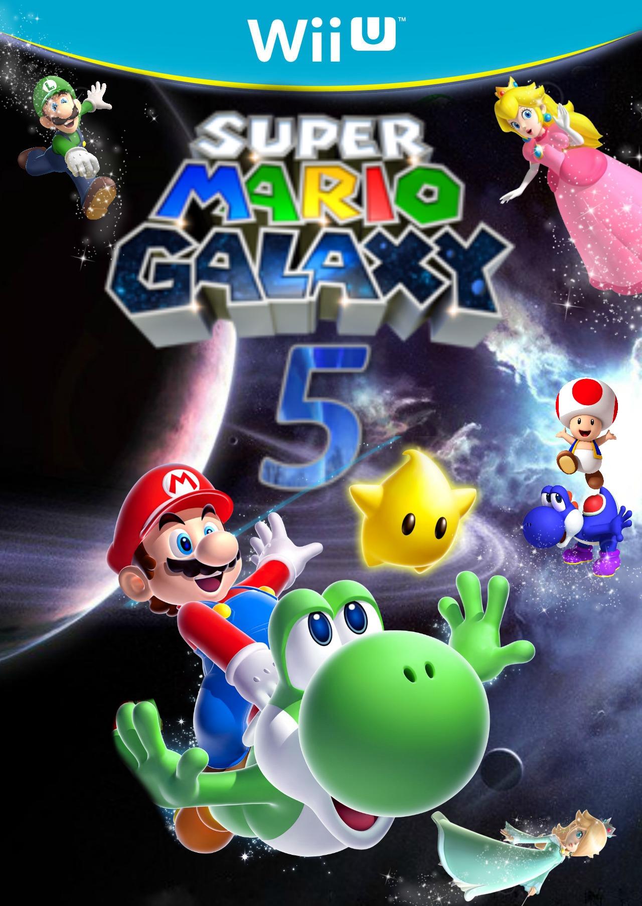 Super Mario Galaxy 5 Mario Fanon Wiki Fandom Powered