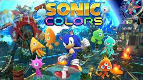 "Sonic Colors ""Planet Wisp Act 2"" Music"