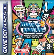 WarioWare, Inc. Minigame Mania - European Cover