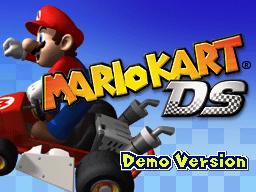 Title Screen - Mario Kart DS (Kiosk)