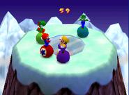Bumper Balls Level 2 - Mario Party 2