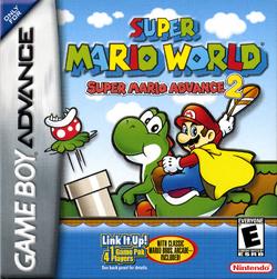 Super Mario Advance 2 - North American Boxart