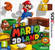 Super Mario 3D Land Boxart (European)
