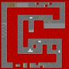 SNES Bowser Castle 2 map